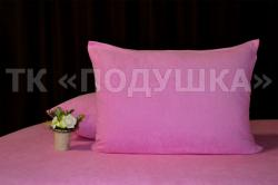 Купить розовые махровые наволочки на молнии в Екатеринбурге