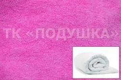 Купить розовый махровый пододеяльник  ТМ Подушка в Екатеринбурге