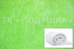 Купить салатовый махровый пододеяльник  в Екатеринбурге